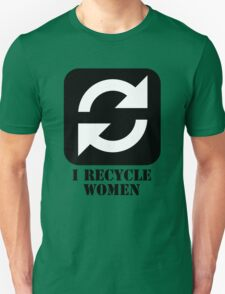 I RECYCLE WOMEN T SHIRT T-Shirt