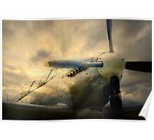 Grace Spitfire ML407 Poster