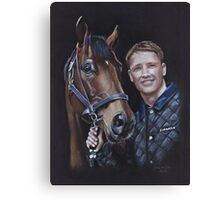 Michael Owen and Brown Panther Canvas Print