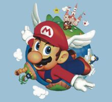 Super Mario 64 Revamped Art by Hunter-Blaze