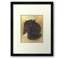 Ready for work! Framed Print