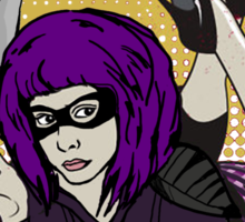 Pulp Hitgirl Sticker