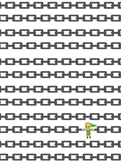The Legend of Zelda: Chain Link 1 by Bendragon