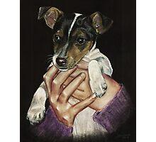 Puppy power! Photographic Print