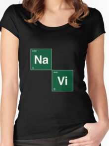 Na`Vi and Breaking Bad Women's Fitted Scoop T-Shirt