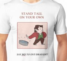 say no Unisex T-Shirt