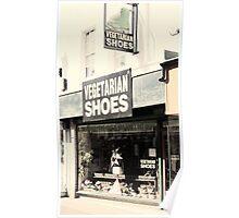 Vegetarian Shoes Poster