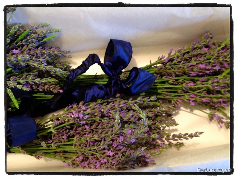 Lavender Bundles by Barbara Wyeth