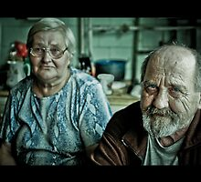 grandparents by Reinis Fretis