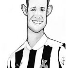 Caricature - Mike Williamson by Jan Szymczuk