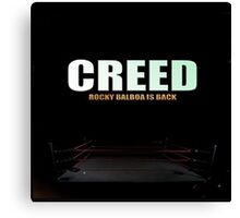 Creed 2015 Rocky Balboa is Back Canvas Print