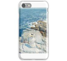 Childe Hassam, The South Ledges, Appledore,  iPhone Case/Skin