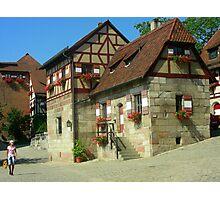 Casas  que componen el rededor del castillo.......  Photographic Print
