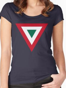 Mexican Air Force Insignia Women's Fitted Scoop T-Shirt