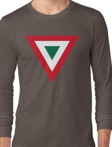 Mexican Air Force Insignia Long Sleeve T-Shirt