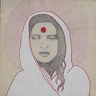 Anandamayi Ma by artbytego