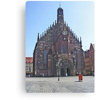 Iglesia de las Mujeres.........Nuremberg. Canvas Print