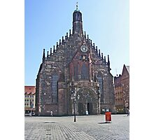 Iglesia de las Mujeres.........Nuremberg. Photographic Print