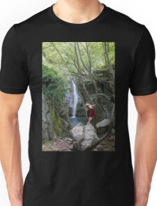 Naiad in the wind Unisex T-Shirt