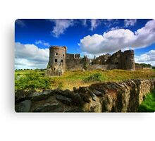 Carew - Mediaeval Castle -Pembrokeshire Canvas Print
