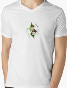 Clone High - Two Peas In A Pod Mens V-Neck T-Shirt