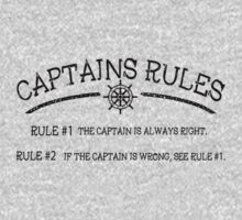 Captains Rules One Piece - Long Sleeve