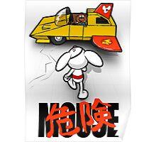 Dangerkira Mouse Poster