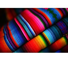 Mayan Cloth Photographic Print