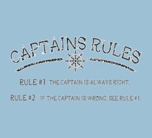 Captains Rules Stroke One Piece - Short Sleeve
