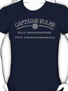 Captains Rules Stroke T-Shirt