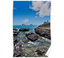 Mokulua Islands - Lanikai Beach Park Poster