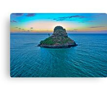 China Man's Hat - Kualoa Beach Park Canvas Print