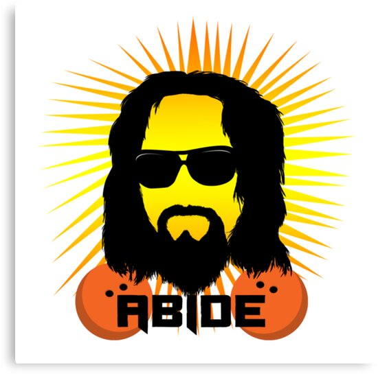 Abide Dude T Shirt by Fangpunk