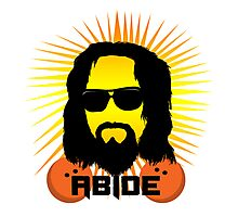 Abide Dude T Shirt Photographic Print
