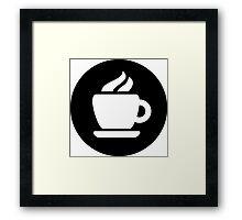 Coffee Ideology Framed Print