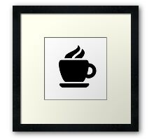 Coffee Ideology Framed Print
