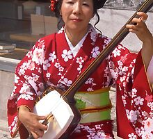 Japanese Street Musician by Shulie1