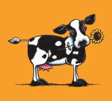 Sunny Dairy Cow by offleashart