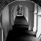 The Secret Passageway  - B&W by ctheworld