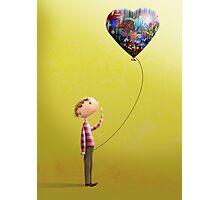The Coloured Balloon Photographic Print