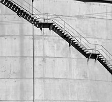 Water Tower Stairs by Bami