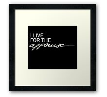 Applause Framed Print