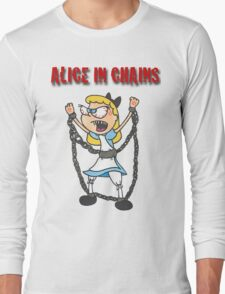 """Alice In Chains"" Long Sleeve T-Shirt"