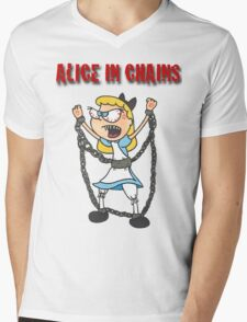 """""""Alice In Chains"""" Mens V-Neck T-Shirt"""