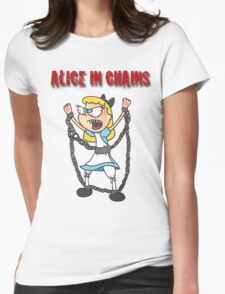 """Alice In Chains"" Womens Fitted T-Shirt"