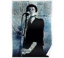 Ian Curtis Poster