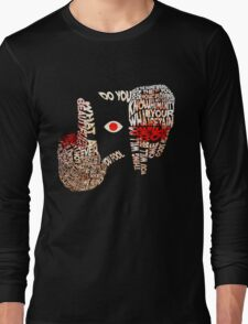 Hellsing - Alucard Typography Long Sleeve T-Shirt