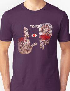Hellsing - Alucard Typography T-Shirt