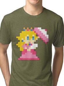 Super Mario Maker - Princess Peach Costume Sprite Tri-blend T-Shirt