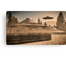 German WWII UFO by Raphael Terra Canvas Print